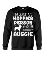 Happier Person Auggie Crewneck Sweatshirt thumbnail