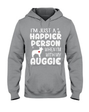 Happier Person Auggie Hooded Sweatshirt thumbnail