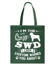 Crazy SWD Lady Tote Bag thumbnail