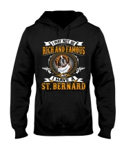 Saint Bernard Rich And Famous Hooded Sweatshirt thumbnail