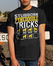 Stubborn Pyredoodle Tricks Classic T-Shirt apparel-classic-tshirt-lifestyle-29