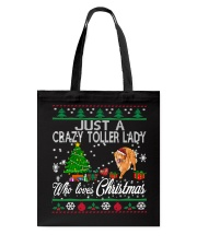 Crazy Toller Lady Who Loves Christmas Tote Bag thumbnail