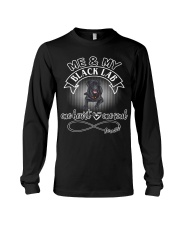 Black Lab Is In My Heart And Soul Long Sleeve Tee thumbnail