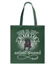 Black Lab Is In My Heart And Soul Tote Bag thumbnail