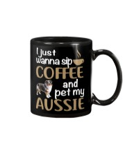 Sip Coffee With My Aussie - Australian Shepherd Mug front