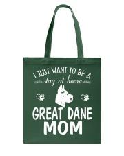 Stay At Home Great Dane Mom Tote Bag thumbnail