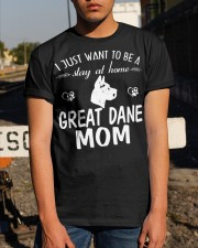 Stay At Home Great Dane Mom Classic T-Shirt apparel-classic-tshirt-lifestyle-29