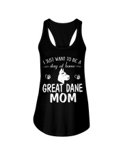 Stay At Home Great Dane Mom Ladies Flowy Tank thumbnail