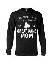 Stay At Home Great Dane Mom Long Sleeve Tee thumbnail