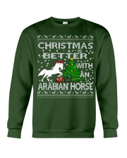 Christmas Is Better WIth An Arabian Horse Crewneck Sweatshirt front