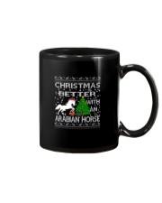 Christmas Is Better WIth An Arabian Horse Mug thumbnail