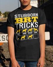 Stubborn Black Russian Terrier Tricks Classic T-Shirt apparel-classic-tshirt-lifestyle-29