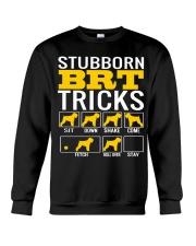 Stubborn Black Russian Terrier Tricks Crewneck Sweatshirt thumbnail