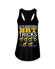 Stubborn Black Russian Terrier Tricks Ladies Flowy Tank thumbnail