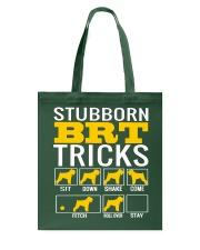 Stubborn Black Russian Terrier Tricks Tote Bag thumbnail