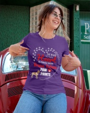 My Heart Paved With Bracco Italiano Paw Prints Ladies T-Shirt apparel-ladies-t-shirt-lifestyle-01