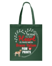 My Heart Paved With Bracco Italiano Paw Prints Tote Bag thumbnail