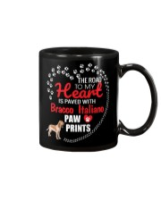 My Heart Paved With Bracco Italiano Paw Prints Mug thumbnail