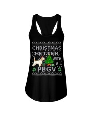 Christmas Is Better With A PBGV Ladies Flowy Tank thumbnail
