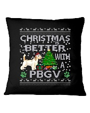 Christmas Is Better With A PBGV Square Pillowcase thumbnail