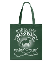 Paso Fino Is In My Heart And Soul Tote Bag thumbnail
