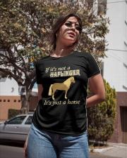 Haflinger Is Just a Horse Ladies T-Shirt apparel-ladies-t-shirt-lifestyle-02
