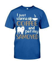 SIP COFFEE SAMOYED  Classic T-Shirt thumbnail