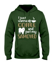 SIP COFFEE SAMOYED  Hooded Sweatshirt thumbnail