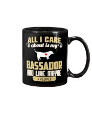All I Care About Is My Bassador Mug thumbnail