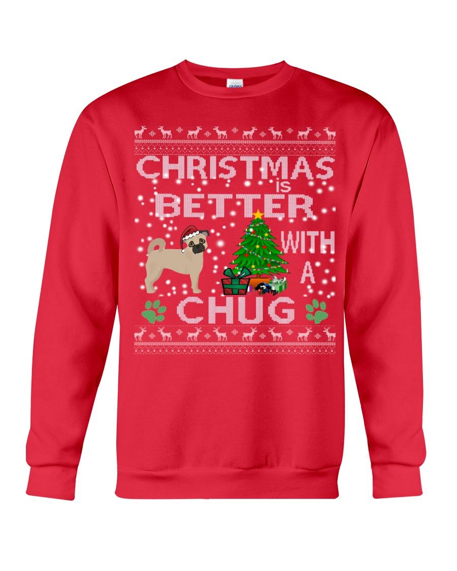 Christmas Is Better With A Chug Crewneck Sweatshirt