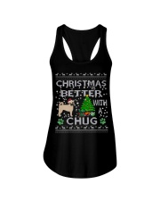Christmas Is Better With A Chug Ladies Flowy Tank thumbnail