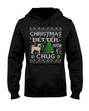 Christmas Is Better With A Chug Hooded Sweatshirt thumbnail