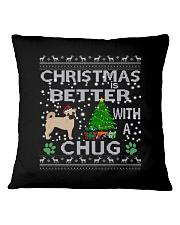 Christmas Is Better With A Chug Square Pillowcase thumbnail