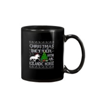 Christmas Is Better With An Icelandic Horse Mug tile