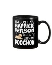 Happier Person Poochon Mug thumbnail