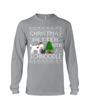 Christmas Is Better With A Schnoodle Long Sleeve Tee thumbnail