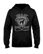 Pyredoodle Is In My Heart And Soul Hooded Sweatshirt thumbnail