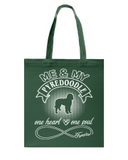 Pyredoodle Is In My Heart And Soul Tote Bag thumbnail