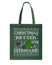 Christmas Is Better With A Deerhound Tote Bag thumbnail
