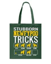 Stubborn Newfypoo Tricks Tote Bag thumbnail