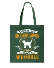 Rich And Famous WIth Whoodle Tote Bag thumbnail