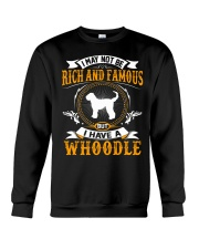 Rich And Famous WIth Whoodle Crewneck Sweatshirt thumbnail
