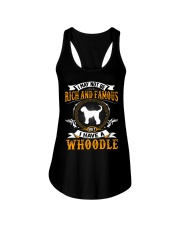 Rich And Famous WIth Whoodle Ladies Flowy Tank thumbnail