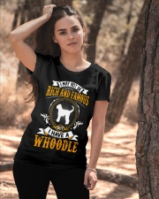 Rich And Famous WIth Whoodle Ladies T-Shirt apparel-ladies-t-shirt-lifestyle-06