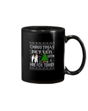 Christmas Is Better With A Wire Fox Terrier Mug thumbnail