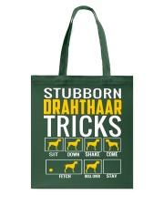 Stubborn Deutsch Drahthaar Tricks Tote Bag thumbnail