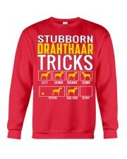 Stubborn Deutsch Drahthaar Tricks Crewneck Sweatshirt front