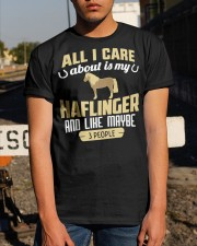 All I Care About Is My Haflinger Horse Classic T-Shirt apparel-classic-tshirt-lifestyle-29