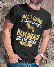 All I Care About Is My Haflinger Horse Classic T-Shirt lifestyle-mens-crewneck-front-4