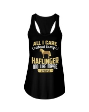 All I Care About Is My Haflinger Horse Ladies Flowy Tank thumbnail